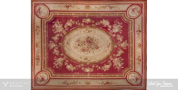 French Carpets.Boustani Glorious Handicrafts