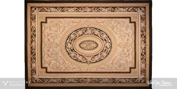Aubusson-French Carpets.Boustani Glorious Handicrafts