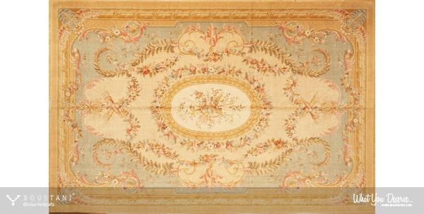 Savonnerie-French Carpets.Boustani Glorious Handicrafts