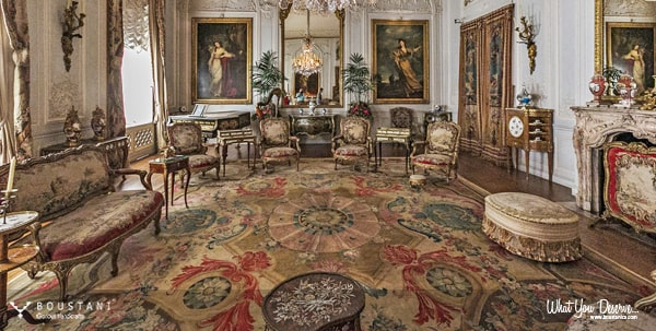 The Palace of Versailles-French Carpets.Boustani Glorious Handicrafts