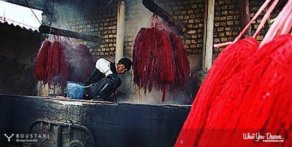 Natural Dyeing-Boustani Rug