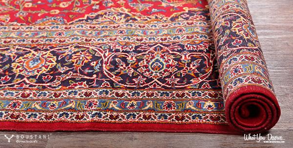 Rugs of Kashan-Boustani Oriental Carpets.Kashan Rug