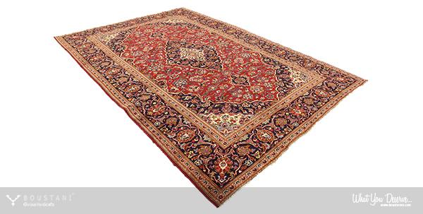 Rugs of Kashan-Boustani Carpet