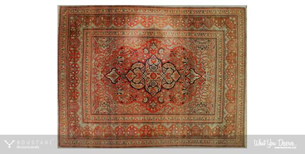 Rugs of Kashan-Boustani.Mohtasham Kashan