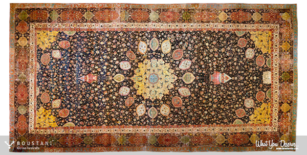 Boustani Rugs.Ardabil Carpet.mid-16th century-V&A Museum, London