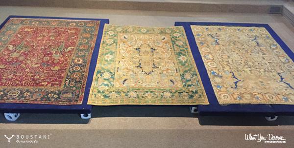 Polonaise Safavid Carpets.Boustani Handmade Carpet