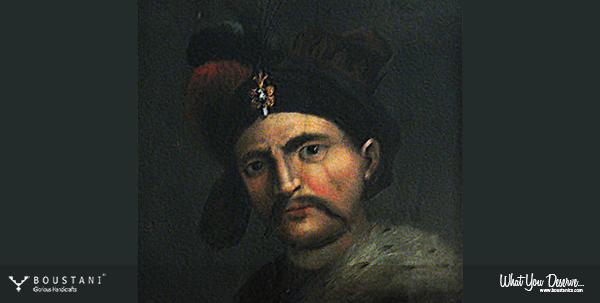 Portrait of Shah Abbas I of Persia-Boustani Carpets