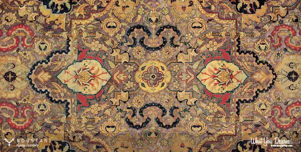 The Yakob Polonaise Carpet.Boustani Rugs
