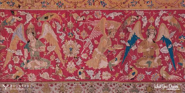The Vienna Safavid Hunting Carpet-Boustani Persian Rugs