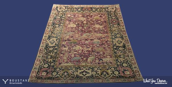 Safavid Carpets-Boustani Rug.3