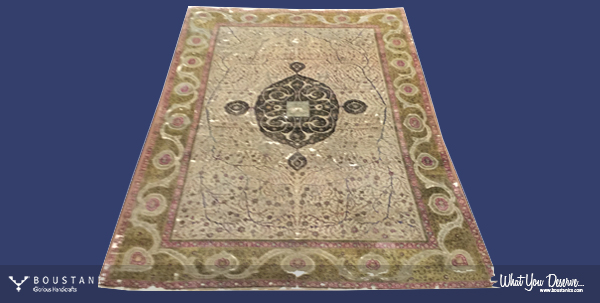 Safavid Carpets-Boustani Rug.5
