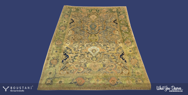 Safavid Carpets.Polonaise Boustani.1