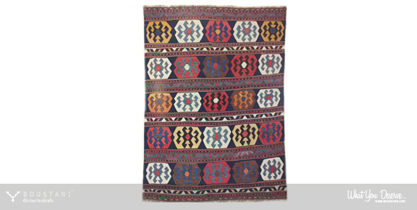Boustani Carpet-Nomadic Persian Rugs-Shahsavan