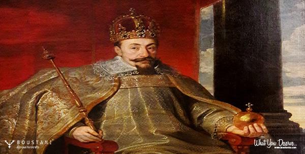 Susandschird Polonaise Carpet-Portrait of Sigismund III Vasa