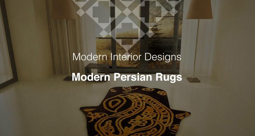 Modern Interior Designs, Modern Persian Rugs